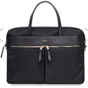 Knomo Hanover slim 14in briefcase